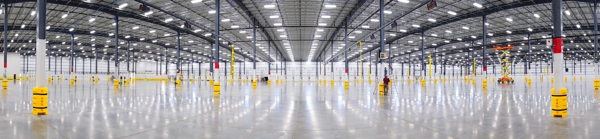 Robert K. Mericle Industrial Building Interior Wide Angle