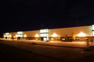 Robert K. Mericle Flex Building at night