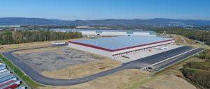Robert K. Mericle Industrial Building Aerial